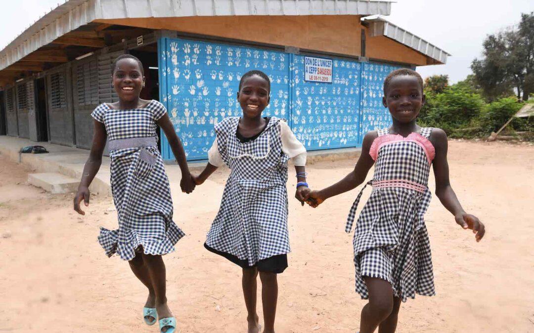 FIT helpt UNICEF met het bouwen van scholen in Ivoorkust